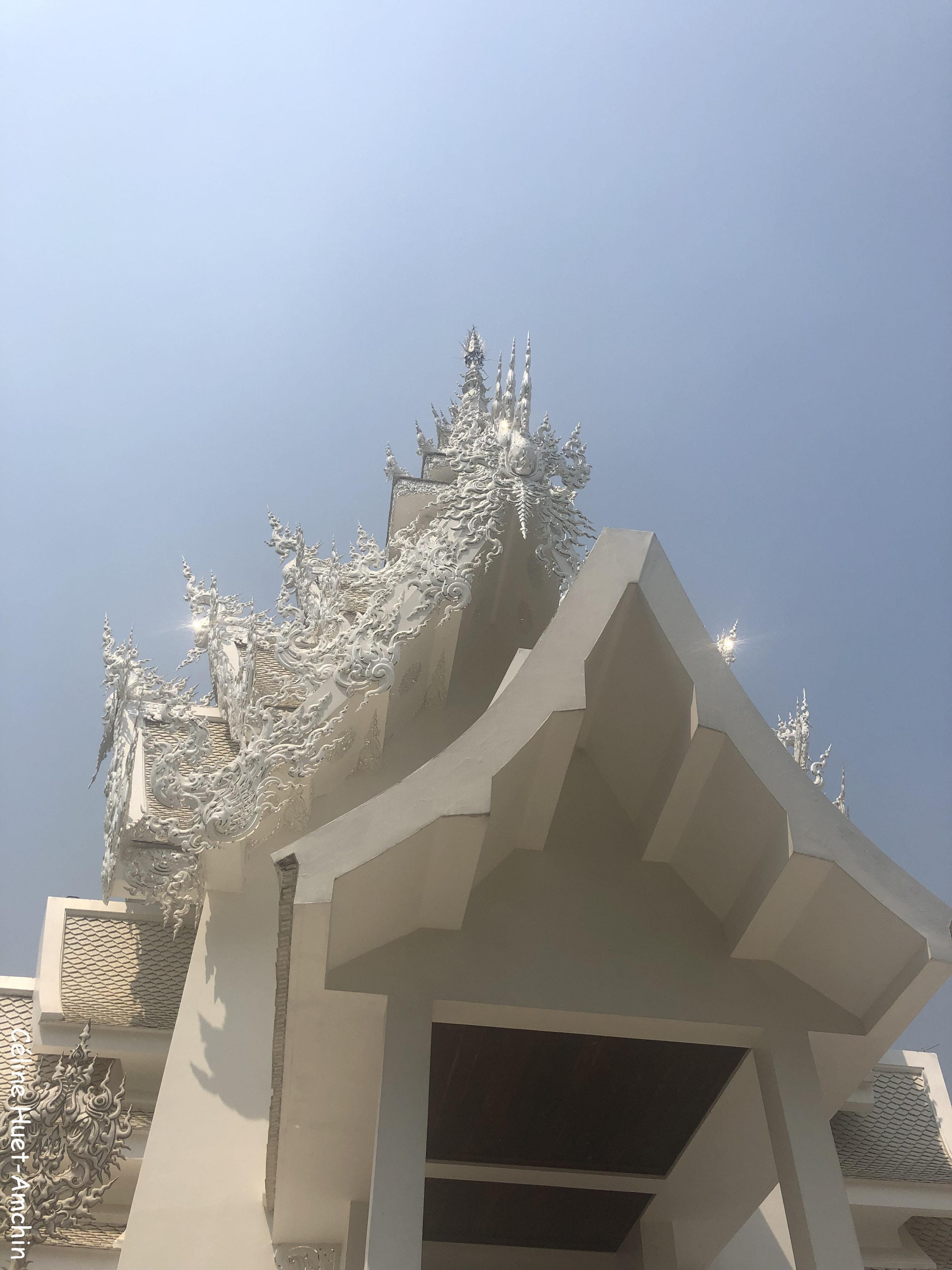 White Temple Wat Rong Khun Province Chiang Rai Thaïlande Asie