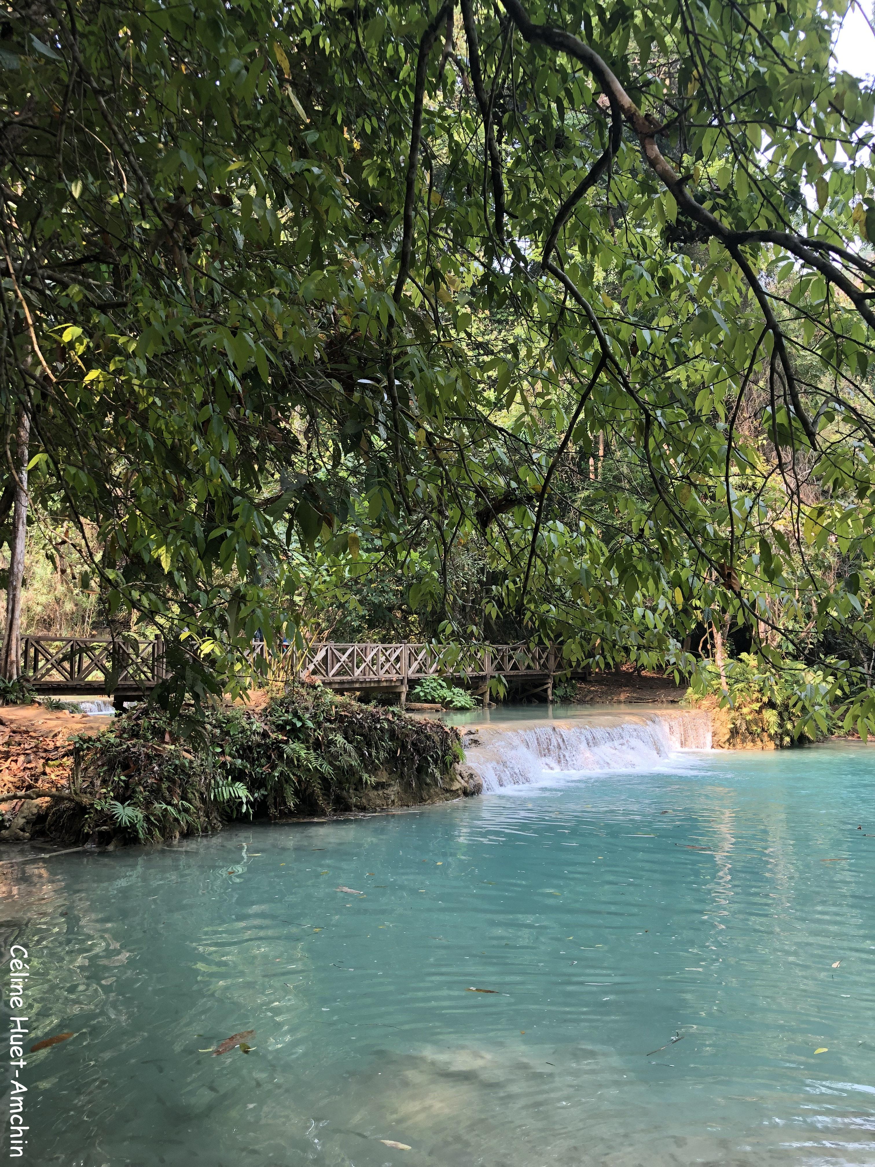 Cascades de Kuang Si Laos Asie