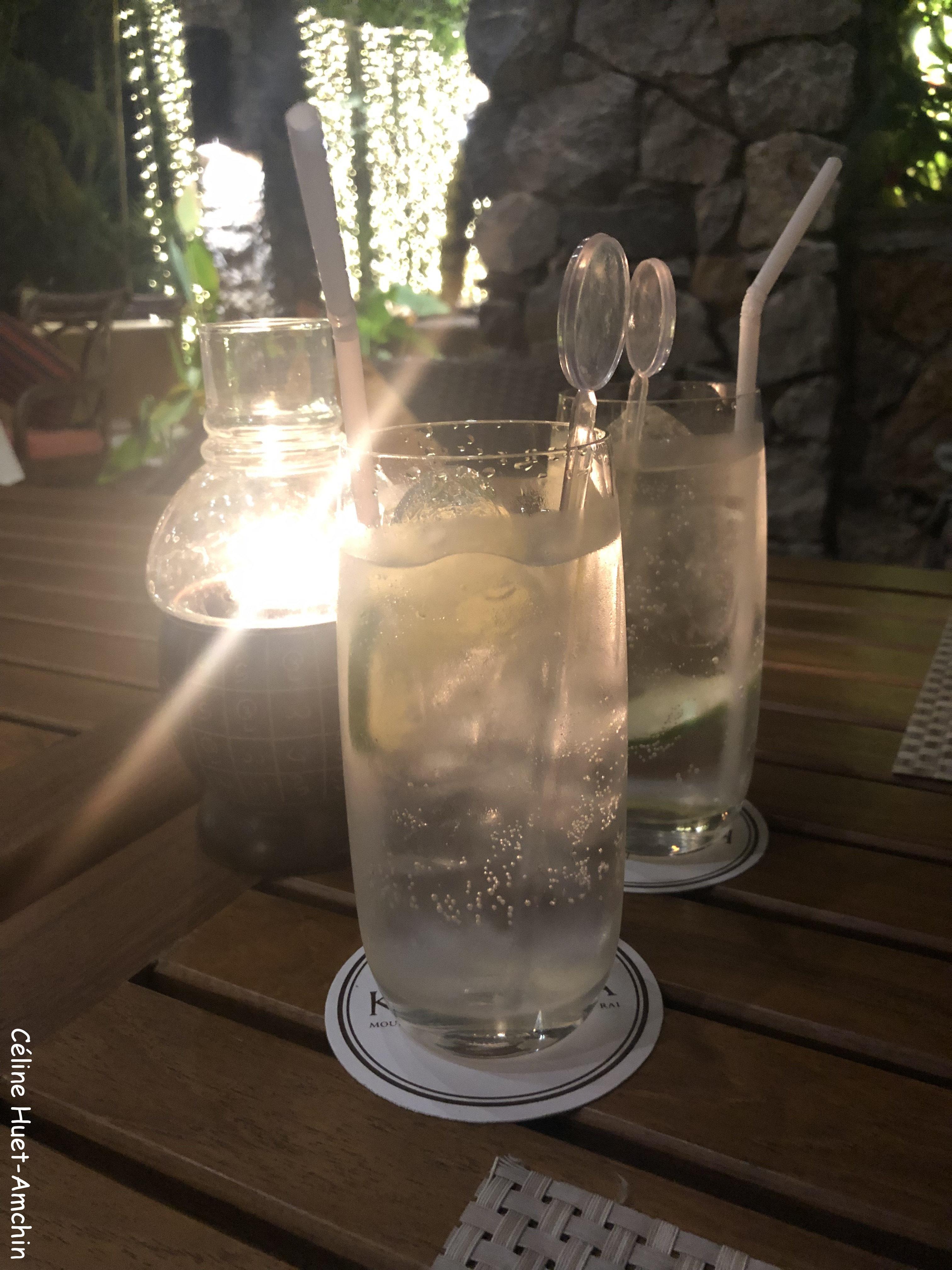 Bombay tonic Hôtel Katiliya Mountain Resort & Spa Mae Chan Chiang Rai Thaïlande Asie
