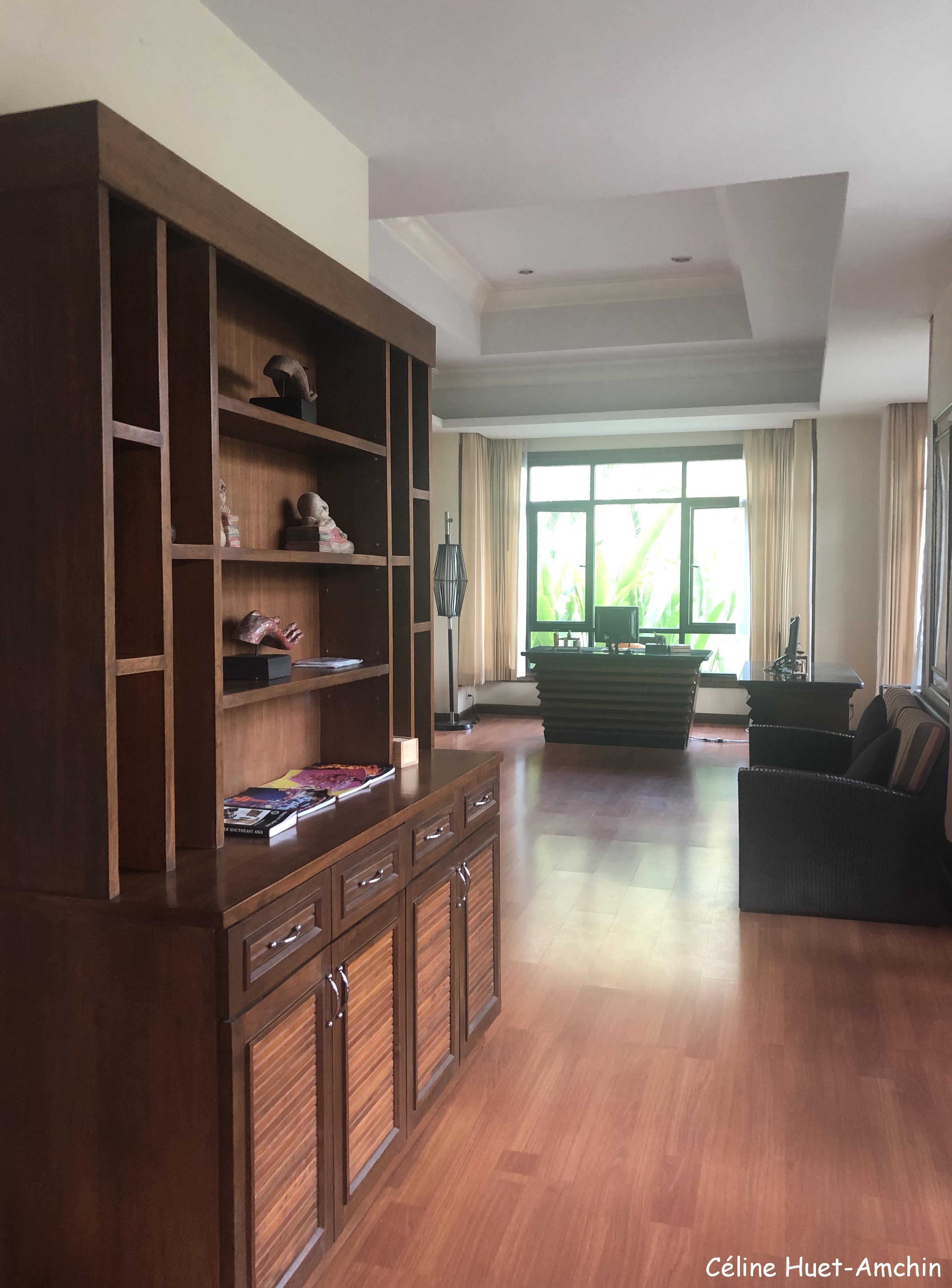Bibliothèque Hôtel Katiliya Mountain Resort & Spa Mae Chan Chiang Rai Thaïlande Asie
