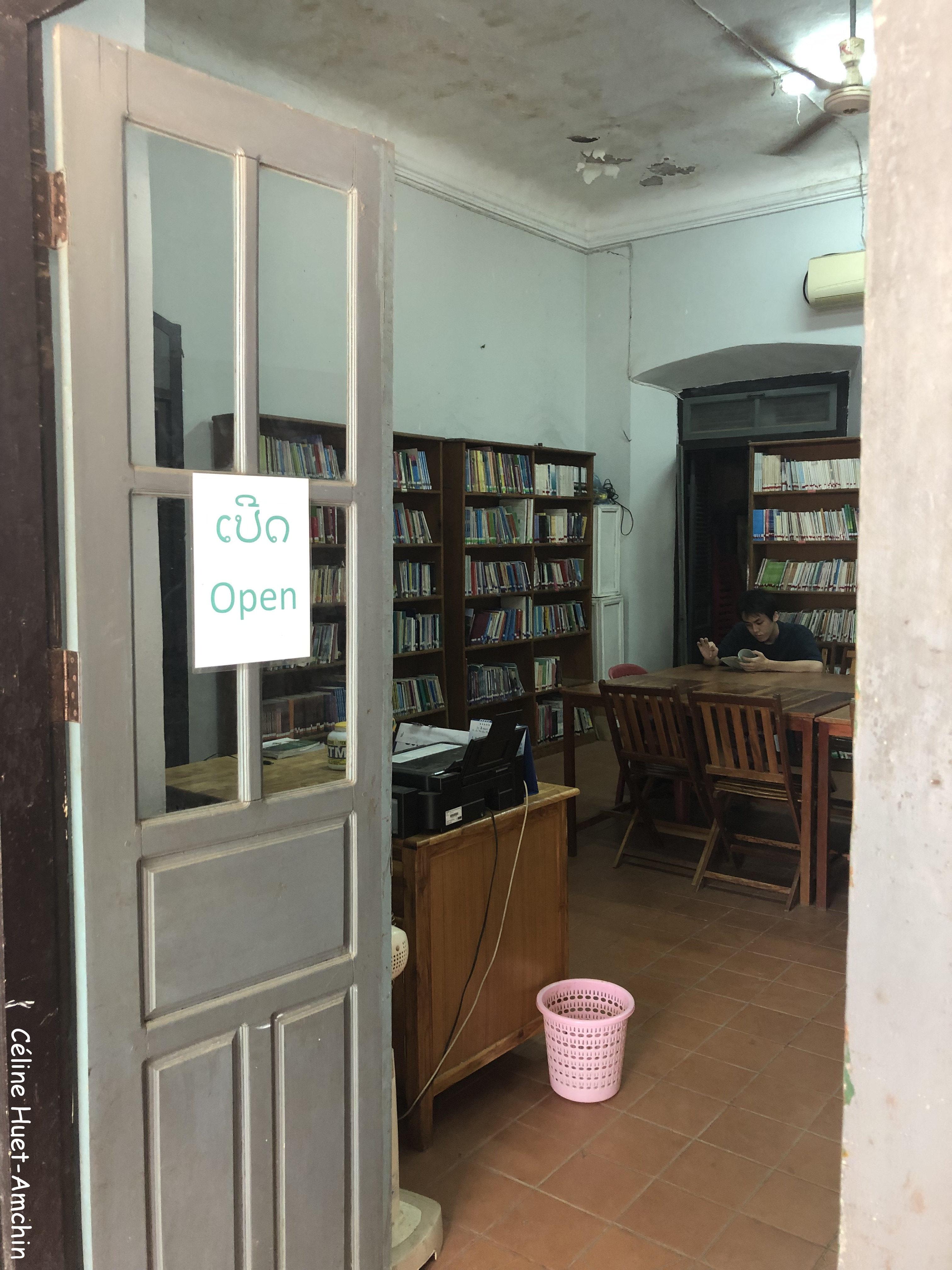 Bibliothèque Luang Prabang Laos Asie