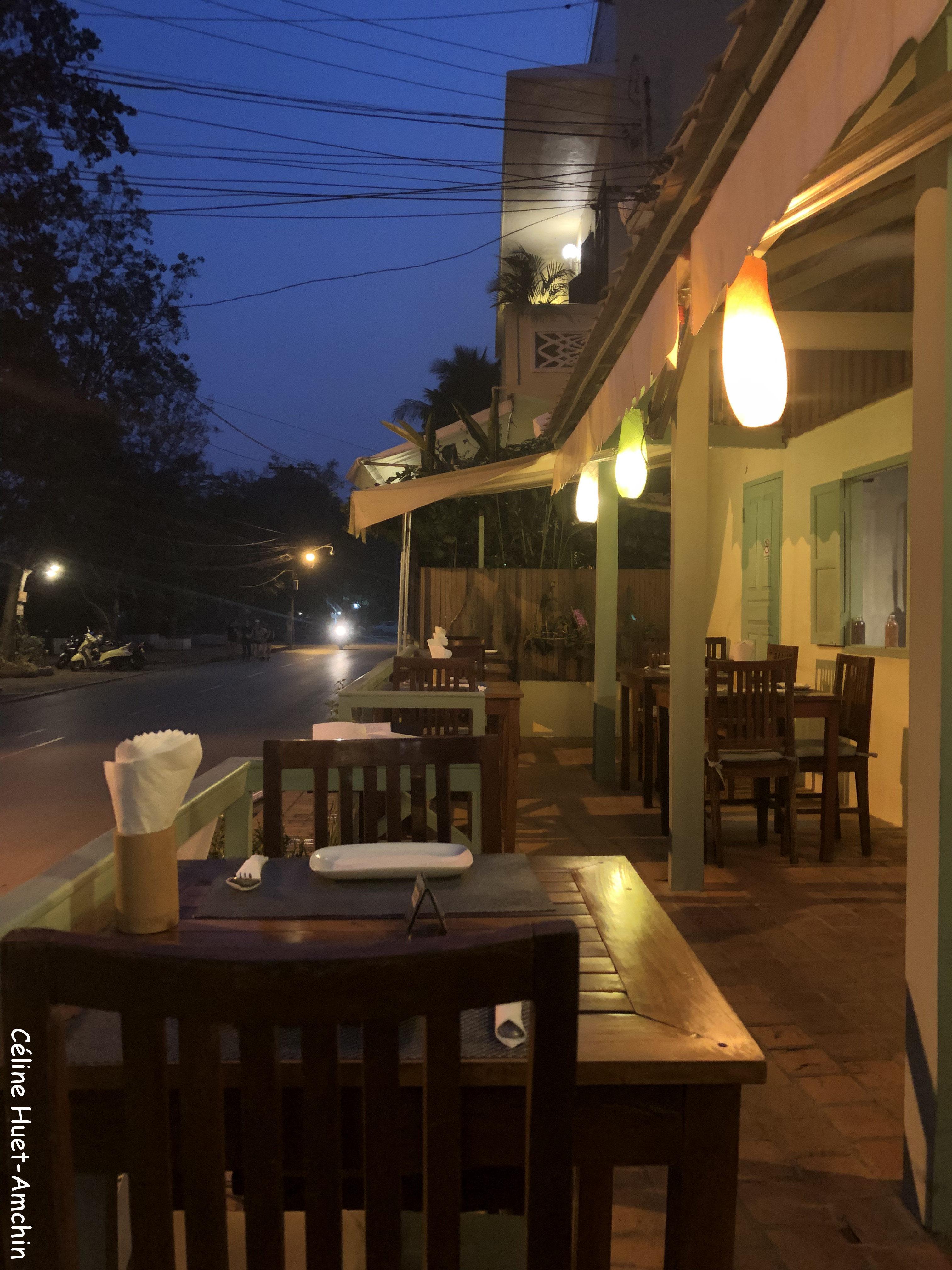 Restaurant Tamarind Luang Prabang Laos Asie