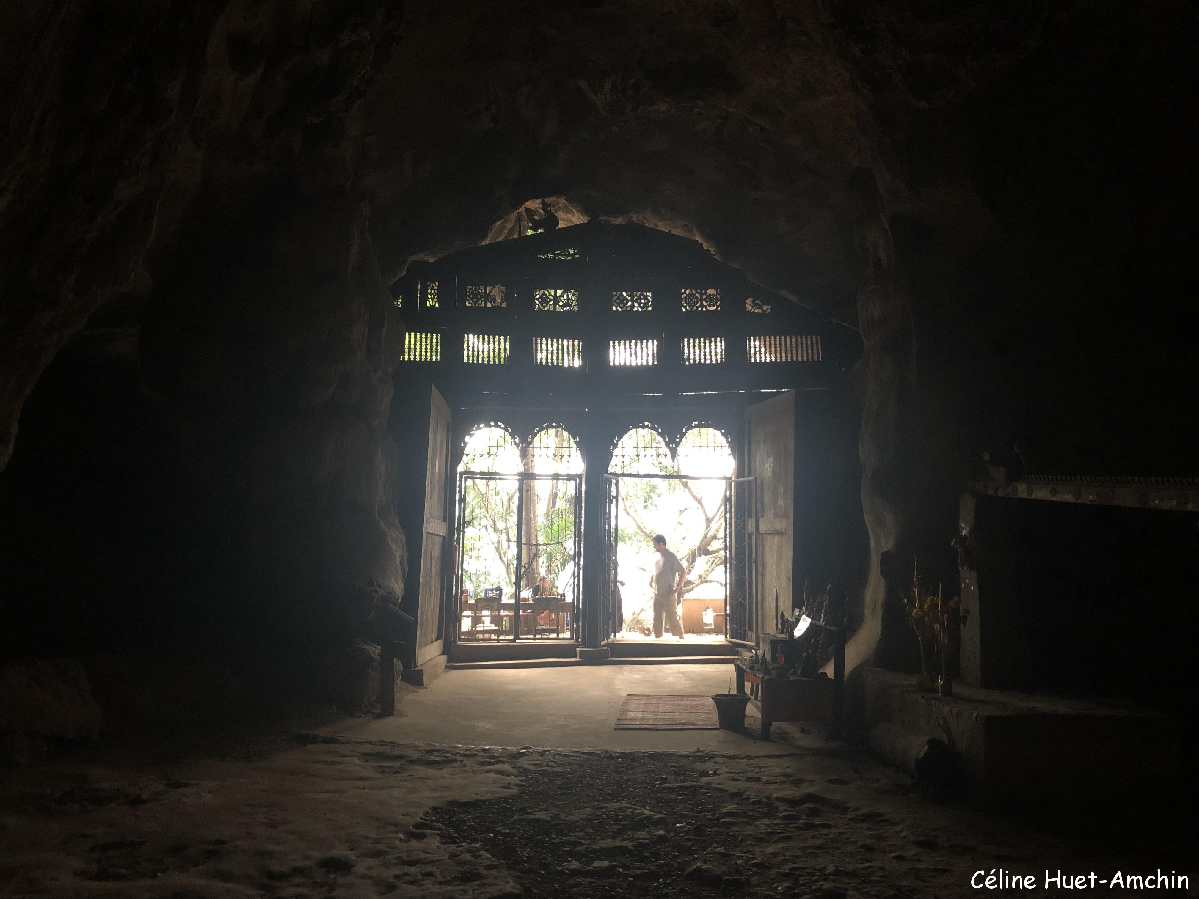 Grotte de Tam Ting Laos Asie