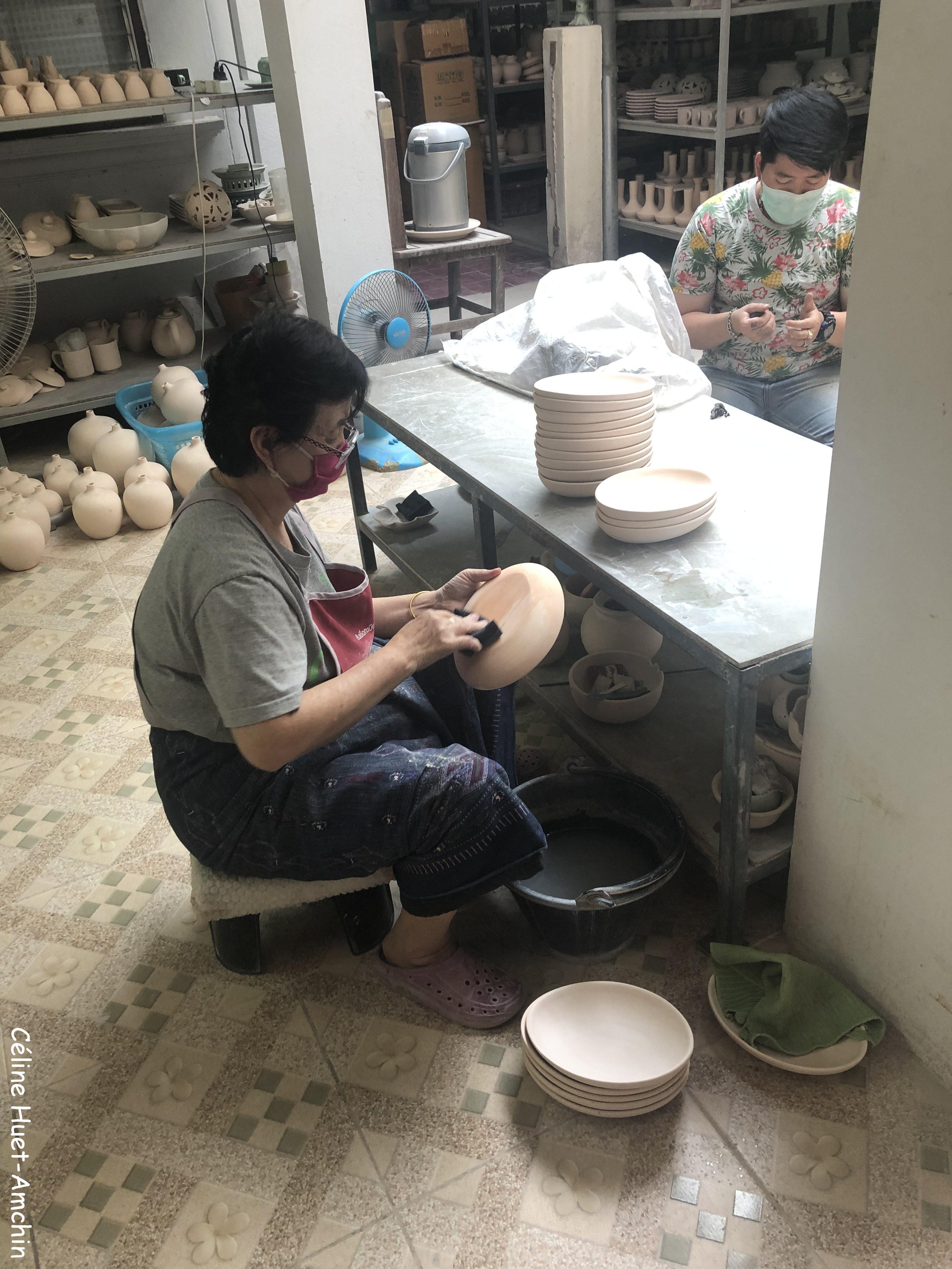 Baan Celadon San Kamphaeng province de Chiang Mai Thaïlande Asie