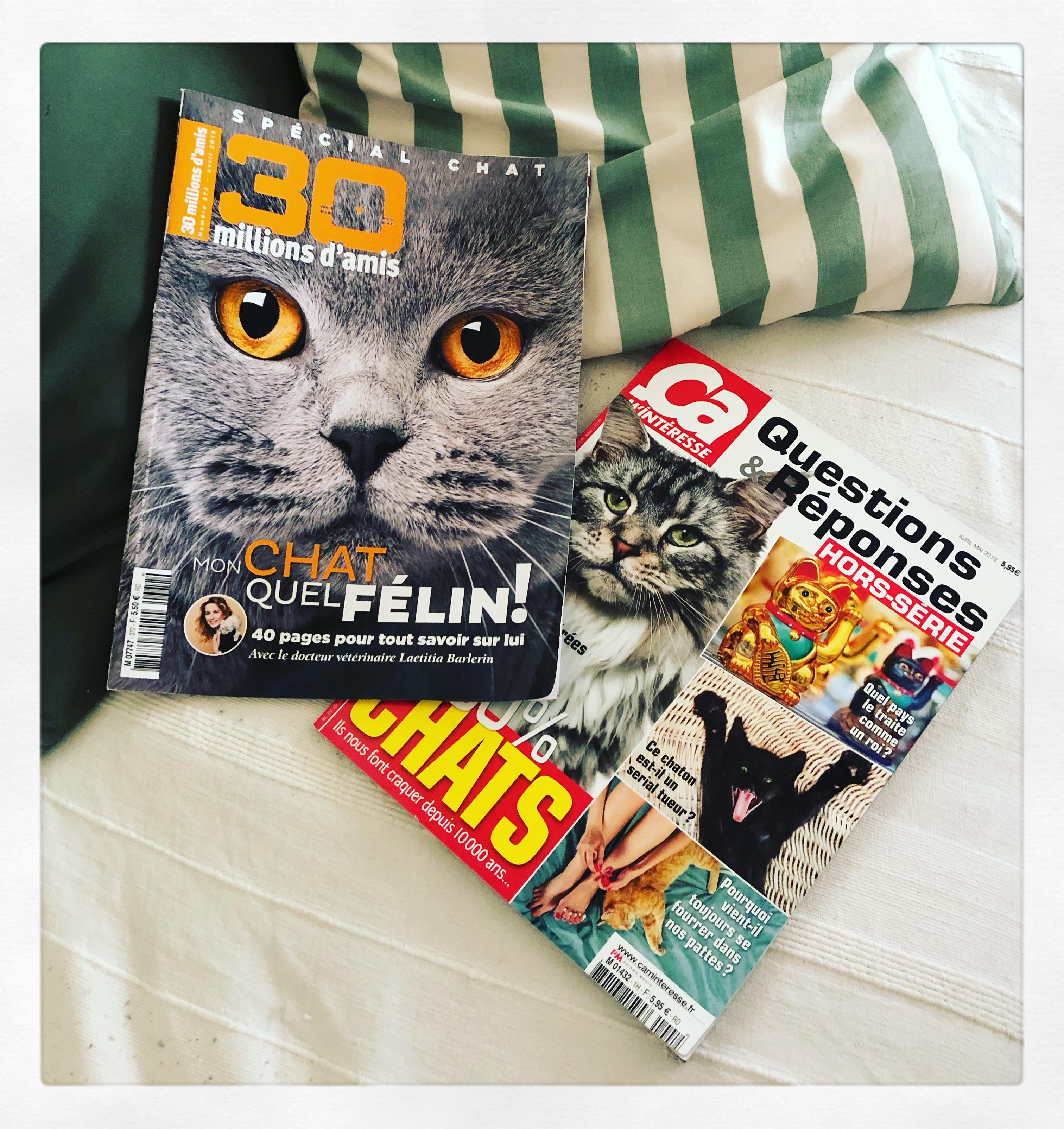 Hors séries Ca m'intéresse et 30 millions d'amis spécial chats