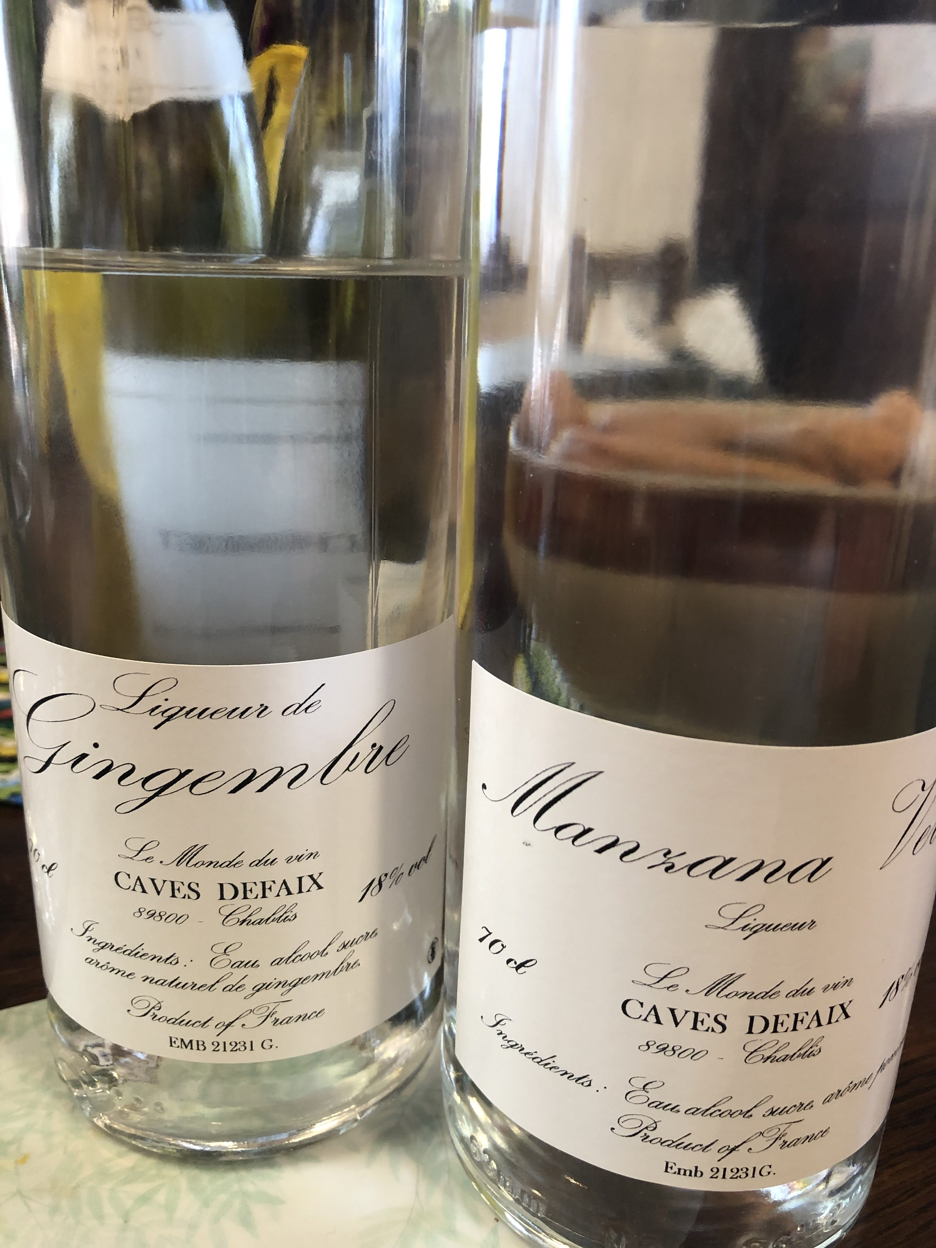 Liqueurs Defaix Bourgogne