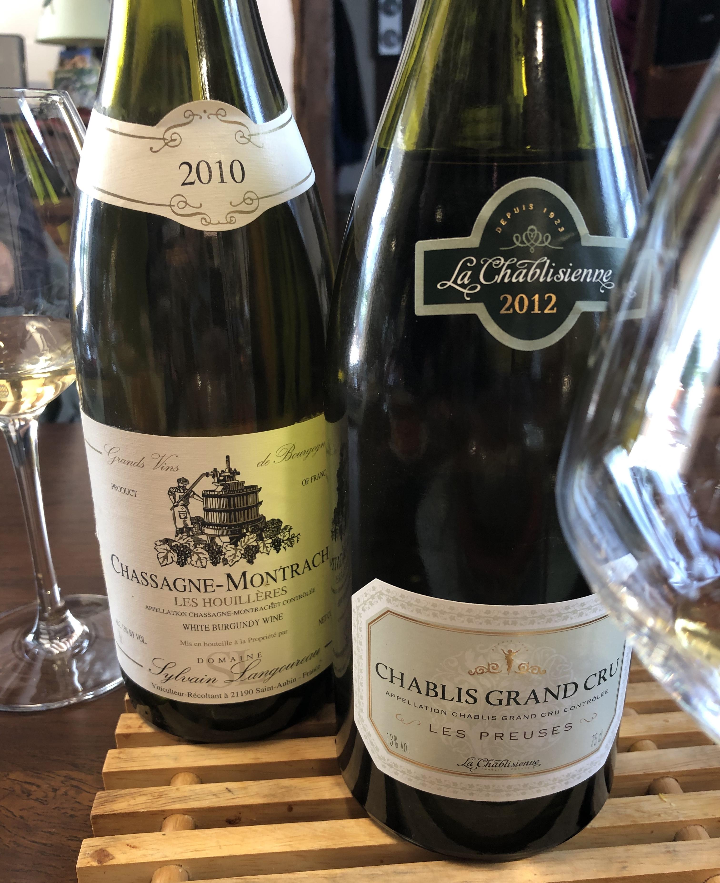 Chablis Grand Cru Chassagne-Montrachet Bourgogne