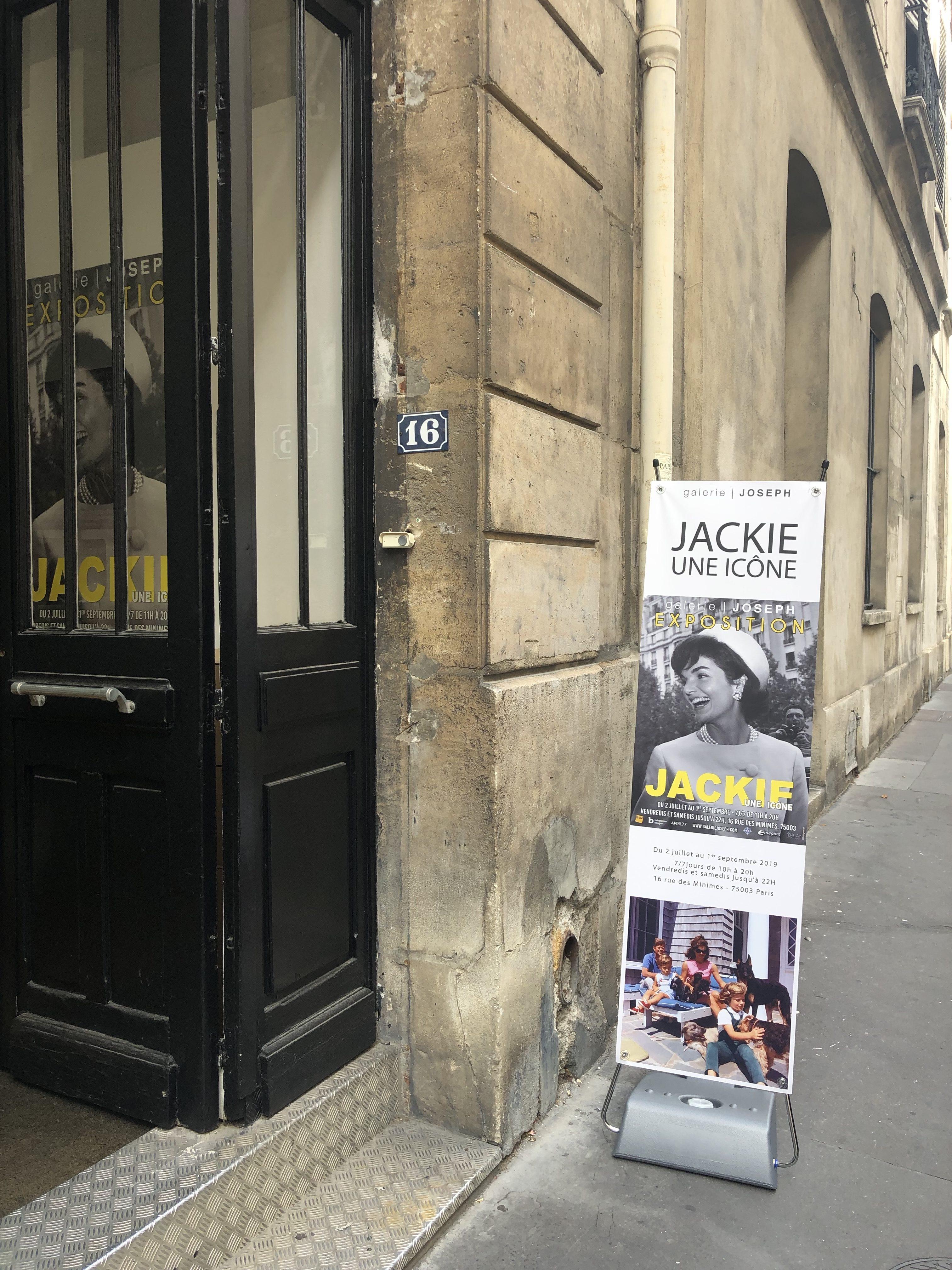"""""""Jackie, une icône"""" (Galerie Joseph, Paris)"""
