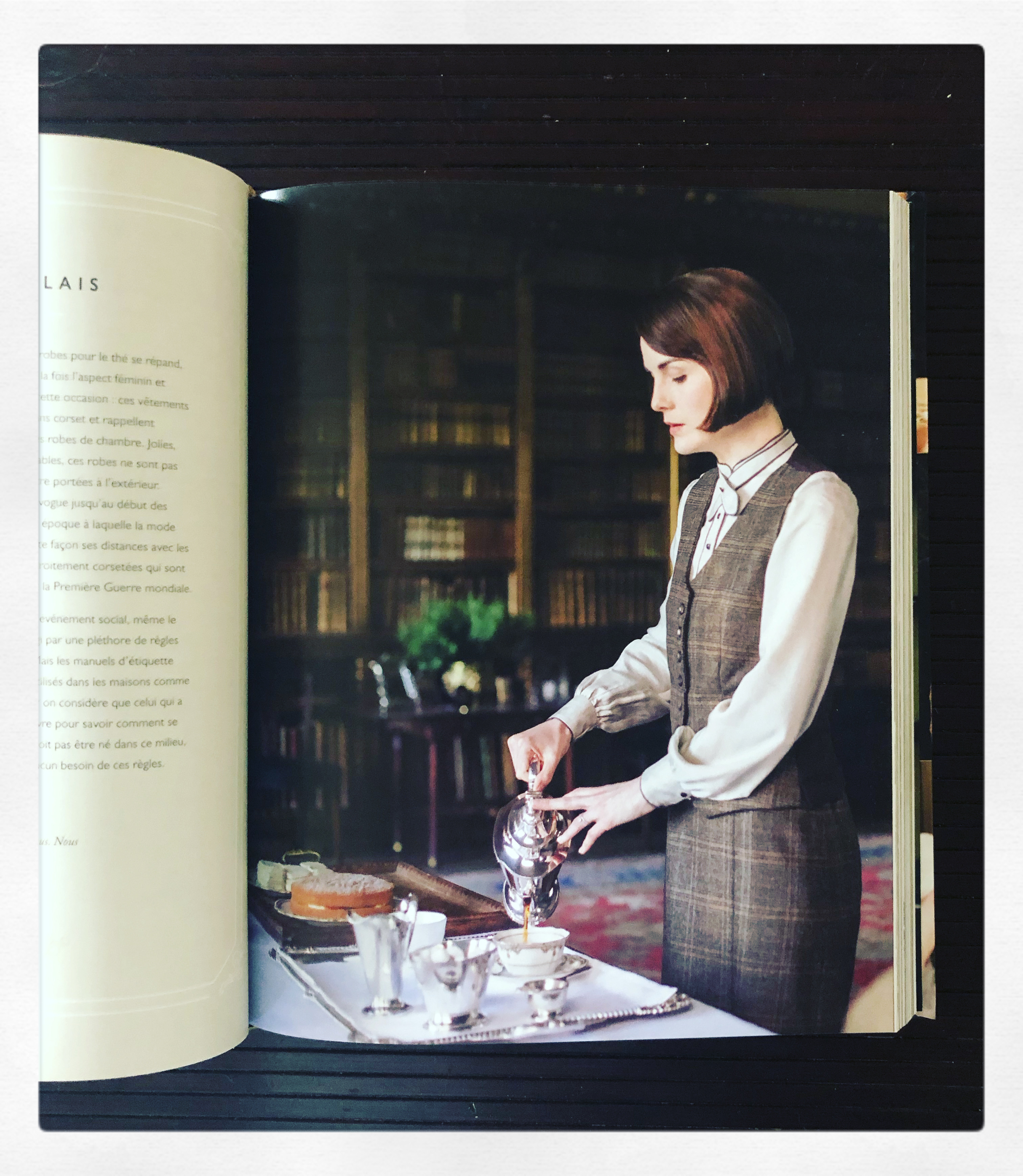 """Downton Abbey : le livre de cuisine"" d'Annie Gray..."
