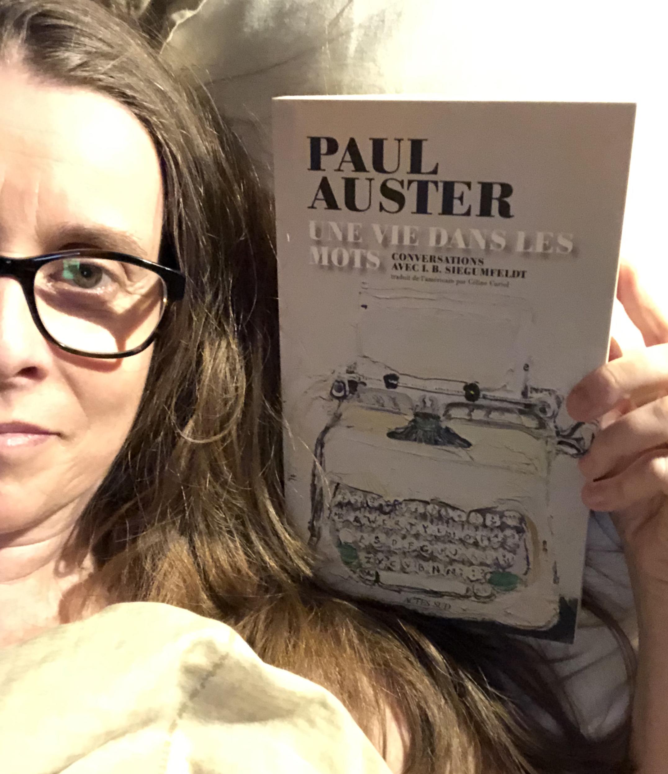 """""""Une vie dans les mots"""" de Paul Auster..."""
