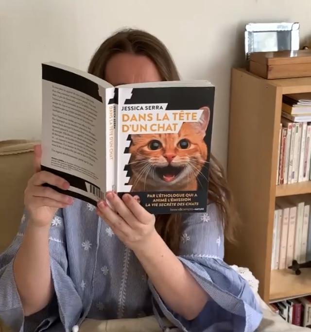 """Dans la tête d'un chat "" de Jessica Serra..."