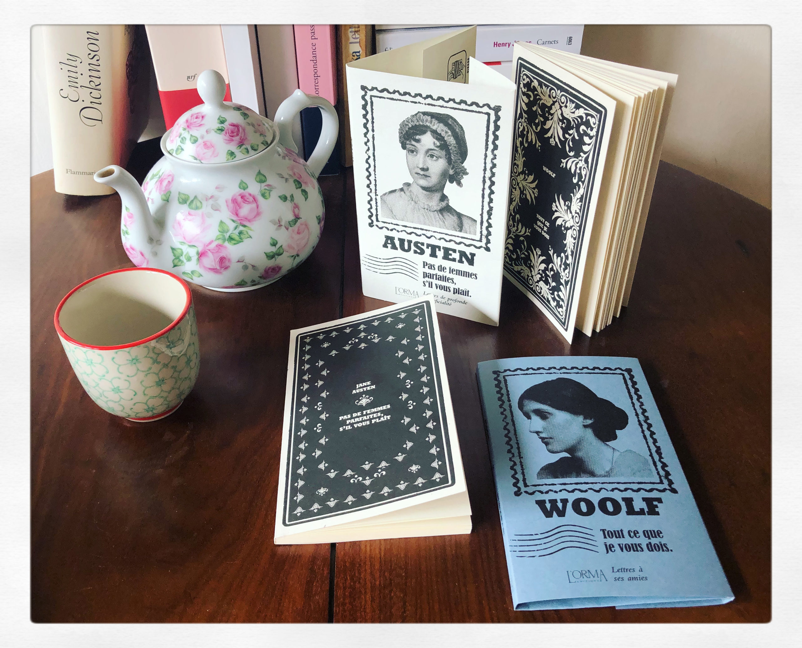 Jane Austen, Virginia Woolf & les éditions L'Orma...