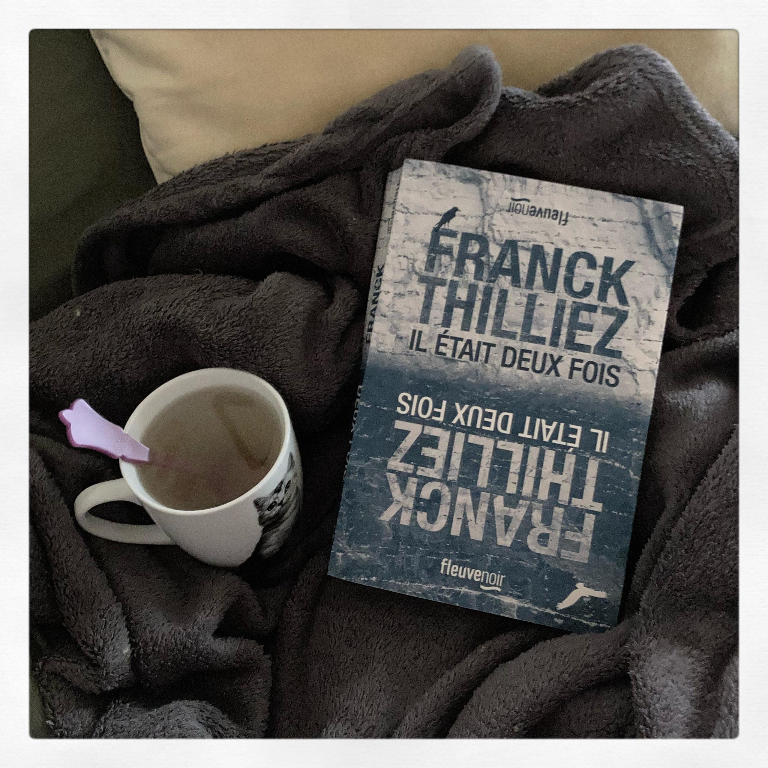 """""""Il était deux fois"""" de Franck Thilliez..."""