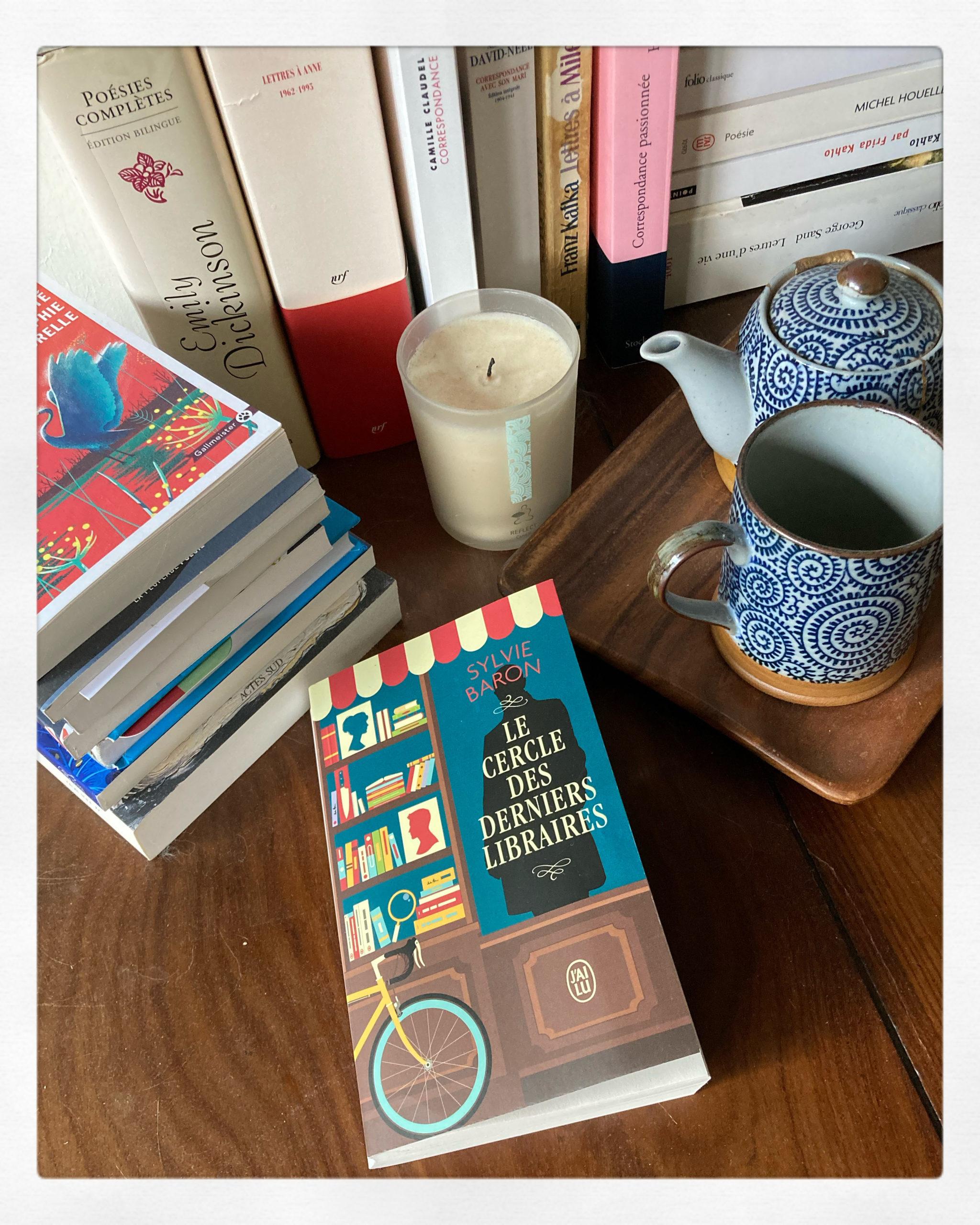 """""""Le cercle des derniers libraires"""" de Sylvie Baron..."""