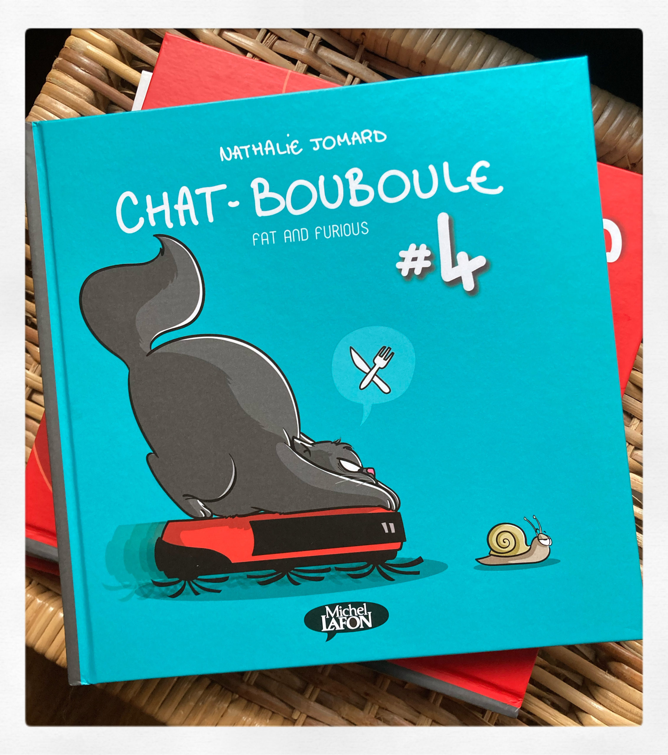 """Chat-Bouboule Fat and Furious #4"" de Nathalie Jomard..."