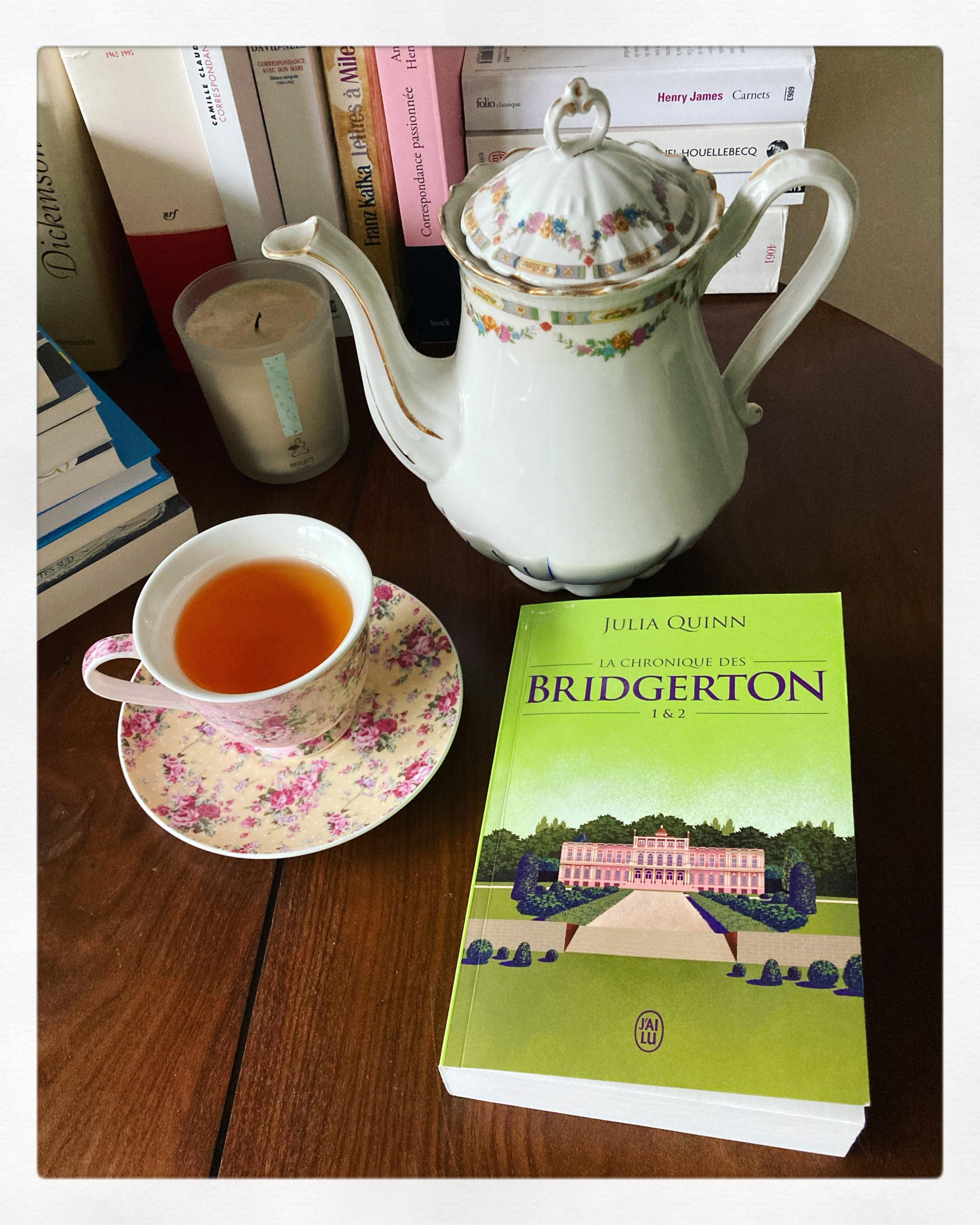 """""""La chronique des Bridgerton"""" de Julia Quinn..."""