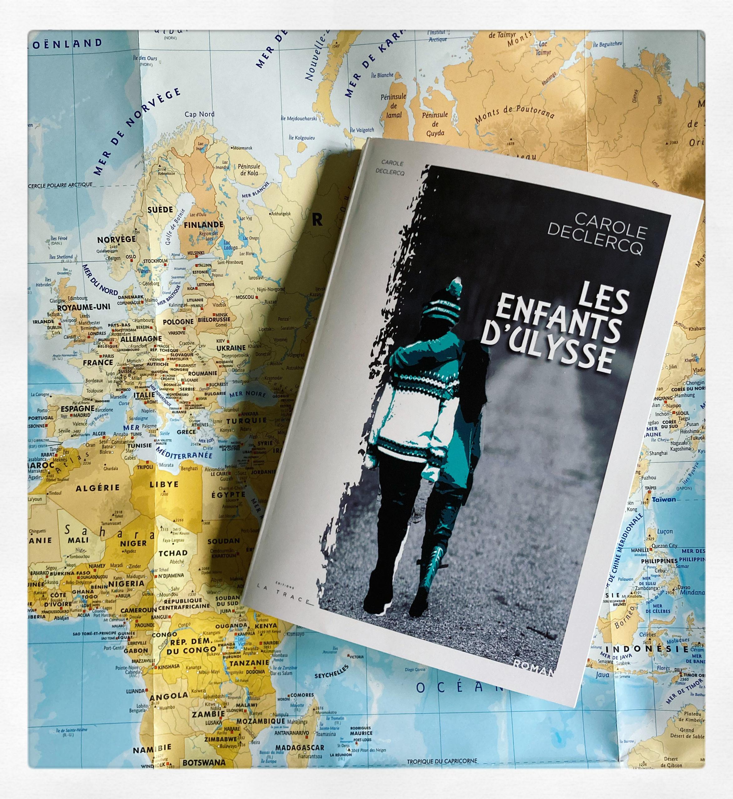 """""""Les enfants d'Ulysse"""" de Carole Declercq..."""