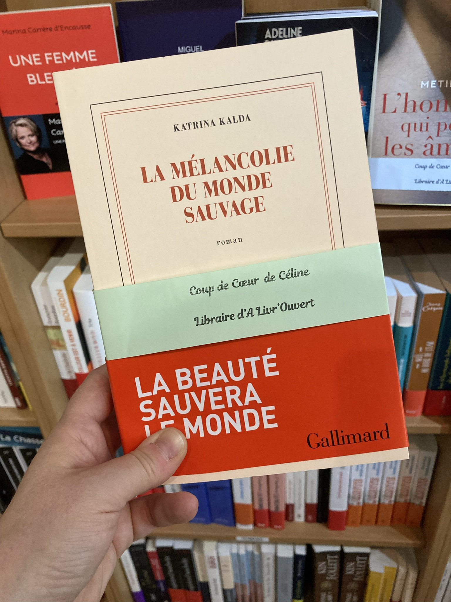 """La mélancolie du monde sauvage"" de Katrina Kalda..."