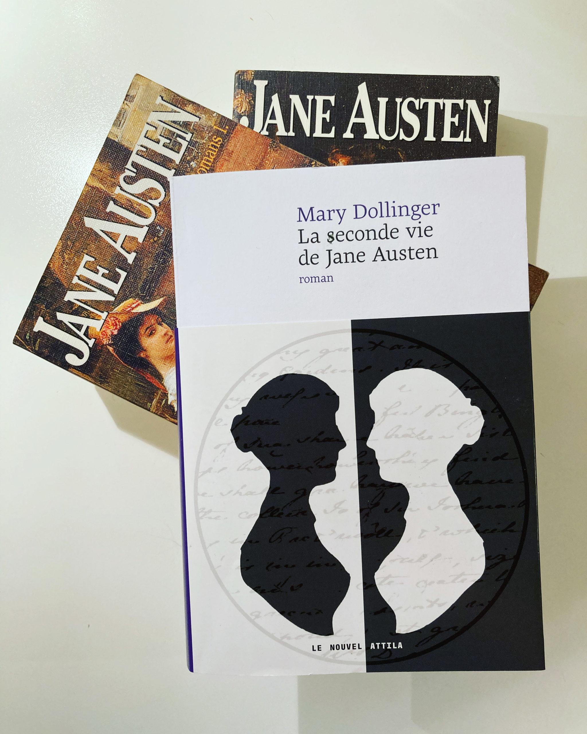 """""""La seconde vie de Jane Austen"""" de Mary Dollinger..."""